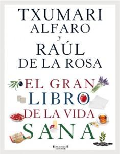 Txumari Alfaro presenta El gran libro de la vida sana