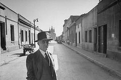 Don Clotario 1958, calle Santa Isabel de Santiago
