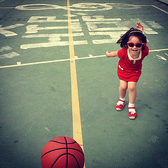 Basketball and cleft