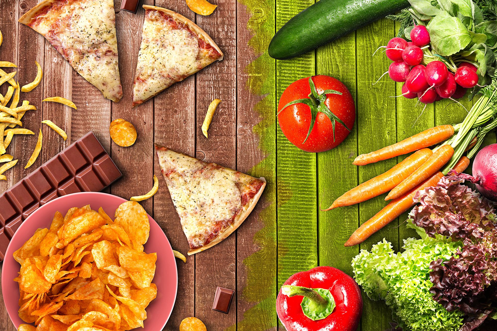 como reducir el consumo de alimentos